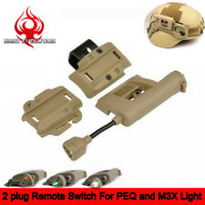 Tactical Charge MPLS Light HeadLamp IR White Green Red Signal For MICH Helmet