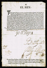 SPAIN 🇪🇸KING FELIPE V HISTORICAL APPOINTMENT AND AUTOGRAPH IN 1713🇪🇸