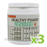3x100g For PET 100 KOREAN NATIVE CATTLE LIVER POWDER Eye Tear Stain Cat Dog_AC
