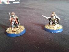 WARHAMMER LOTR - well painted FRODO & SAM - Señor Anillos  - Hobbit