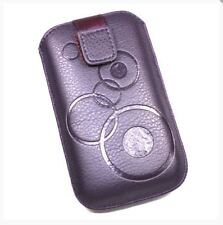 Housse Etui Pochette Protection façon cuir violet pour NOKIA 3310 (2017)