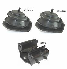 3 PCS Motor /& Trans Automatic Trans Mount For 1984-1989 Nissan 300ZX 3.0L