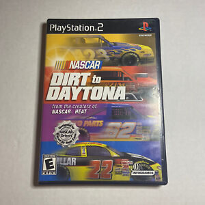 NASCAR: Dirt to Daytona (Sony PlayStation 2, 2002) COMPLETE