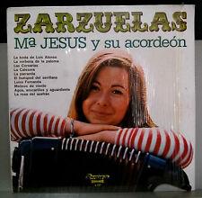 ZARZUELAS Mª JESUS Y SU ACORDEÓN - LP