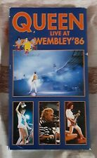 Lot Of 5 Queen Freddie Mercury Vhs Tapes