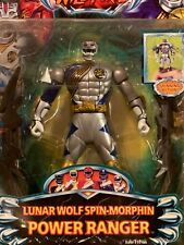 Power Rangers Wild Force Lunar Wolf Spin Morphin Ranger NEW Factory Sealed 2002