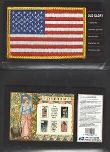 U.S. PRESTIGE BOOKLET OF 20 SCOTT#BK294 2003 OLD GLORY  POST OFFICE FRESH
