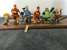 The Simpsons Series 5 Figurines- Caped And Courages Complete Set