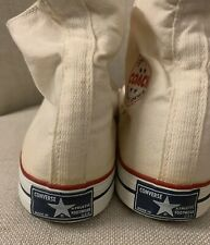 Vintage 70s Converse Coach Blue Label Tag Sneakers Made In USA Comfort Arch 11.5