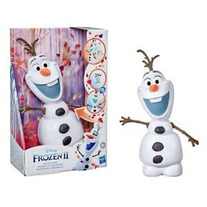 "Disney Frozen 2 Walk & Talk Olaf 25+ Sounds & Phrases 12"" Figure Waddles & Waves"