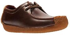 CLARKS Men's Natalie Moccasin - Chestnut Leather