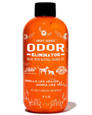 Angry Orange Pet Odor Eliminator for Dog and Cat Urine for Carpet, Floor Stains