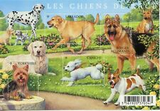 TIMBRE FRANCE NEUF BLOC  FEUILLET N° F4545 ** SERIE NATURE / FAUNE / LES CHIENS