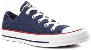 CONVERSE Chuck Taylor All Star Eyelet Stripe 555979C Sneaker Schuhe Damen Neu