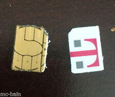 T-Mobile USA sim card to bypass activation lock on Iphone 3-4-5-5c-5s-6-6+ 6S