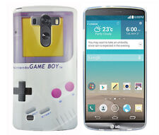 Funda f lg g3 d855 bolso funda protectora case cover de silicona TPU gel Gameboy Color