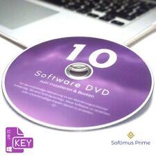 Microsoft Windows 10 Pro Vollversion 32-Bit OEM DVD + Product Key 32 Bit Win10