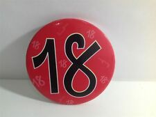18th Birthday Badge - NEW