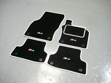 Audi S3 8L / 8P / 8V Tailored Car Floor Mats + S3 Logos (x4) - Colour Choice!