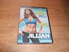 Jillian Michaels: 6 Week Six-Pack Level 1 & 2 Workouts (DVD, 2010, Canadian) NEW