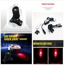 6 Patterns Laser Fog Light Parking Warning Signal Light  IP X5 for Safe Driving