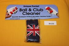 Green Sleeve Golf Ball and Iron Club Cleaner (United Kingdom Uk) B438 New