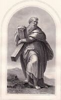 Portrait XIXe Saint André Andreas Andrew the Apostle Ἀνδρέας Андрей Первозванный