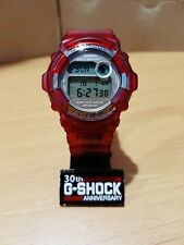Vintage G-Shock DW-9200K Full Jelly RED Dolphin&Whales I.C.E.R.C. Japan Limited