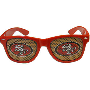 San Francisco 49ers Game Day Shades Sunglasses NFL Licensed