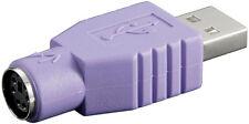 USB-Adapter, A-Stecker > PS/2-Buchse Zur Benutzung mit Kombo Tastatur ( Passiv )