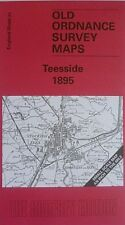 OLD OS Map Darlington Stockton Middlesbrough Croft on Tees 1895  Sheet 33 New