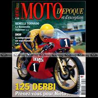 MOTO D'EPOQUE N°33 YAMAHA RD 350 ARIEL BENELLI 650 S TORNADO DERBI 125 DKW ULD