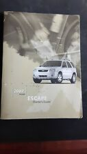 2007 Ford Escape Owner's Manual