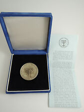 Museum Dr. Simon Adler/Czech Jewish culture and traditions MEDAL 40mm 46g SILVER