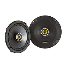 Kicker CS Series CSC65 6.5 Inch Car Audio Speaker with Woofers, Yellow (2 Pack)