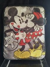 Disney Parks Authentic Original Minnie Mickey Mouse Kiss iPad Tablet Case Pouch