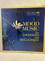 Mood Music For Listening And Relaxation 10 Vinyl LP Records Set Reader's Digest