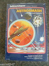 ASTRO SMASH INTELLIVISION NEW OLD STOCK GAME SEALED IN BOX FROM 1981
