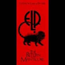 Emerson Lake & Palmer - Return Of The Manticore (CD 1996) New & Sealed