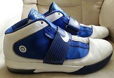 Mens Blue And White Nike Lebron James Witness Athletic Shoes Size 18