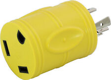 AC Connectors RV Generator L5-20P 20Amp Locking Plug to RV 30Amp TT-30R Adapter