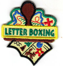 """""""LETTERBOXING"""" -  Iron On Embroidered Patch - Hobby - Game - Treasure Hunting"""
