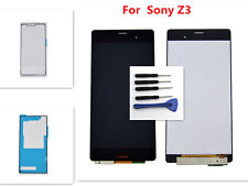 For Sony Xperia Z3 D6603 D6653 LCD Screen Display Touch Digitizer Assembly Black