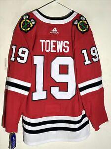 adidas Authentic Adizero NHL Jersey Chicago Blackhawks Jonathan Toews Red sz 56
