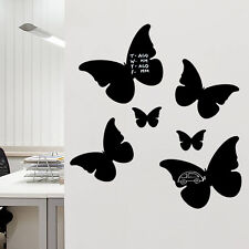 Blackboard Butterfly Wall Stickers, messages, memo, kitchen, bedroom.