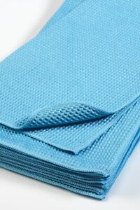 Drying towel, waffle weave. Extra large 80x60cm. Pack of 5. Ultra absorbent