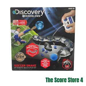 Discovery #MINDBLOWN Robotic Soccer Snake Build & Play Kit New