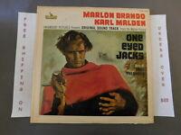 ONE EYED JACKS ORIGINAL SOUNDTRACK LP MARLON BRANDO LOM 16001