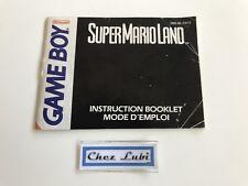 Notice - Super Mario Land - Nintendo Game Boy - PAL FAH 8
