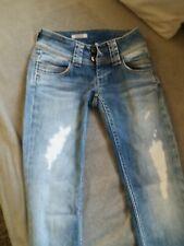 Jean Pepe jeans Venus w 24 L 32  bleu val 105 € destroy soit 34 etat excellent